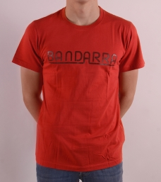 Vintage Bandarra Tee Red / Brown