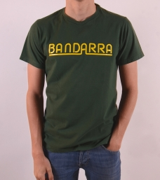 Vintage Bandarra Tee Green / Yellow