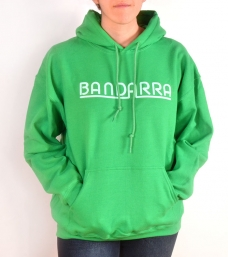 Hoody Sweatshirt  Bandarra Kelly Green  / Light Green