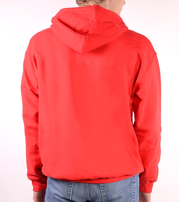 Hoody Sweatshirt Contrast Bandarra Red / Brown