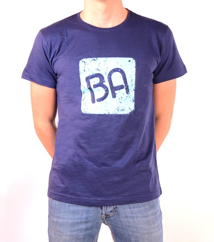 Camiseta BA Slubba Azul / Turquesa