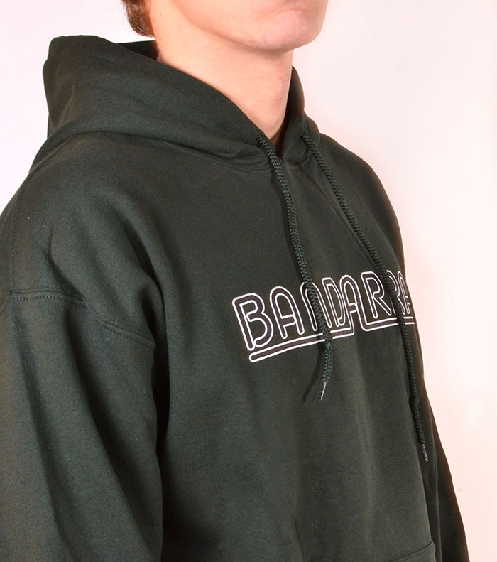 Hoody Sweatshirt  Bandarra Green / Black White