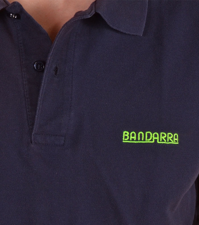 Bandarra Slim Fit Polo Bleu / Green