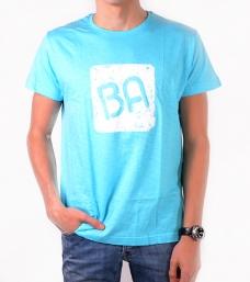 Camiseta BA Slubba Turquesa / Blanco {descripcio_sensetags_prod}