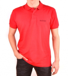 Polo Bandarra Slim FIt Rojo / Negro {descripcio_sensetags_prod}